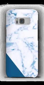Blaues Marmor Handyhülle Galaxy S8