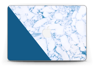 """Marbre et bleu Skin MacBook Pro Retina 13"""" 2015"""