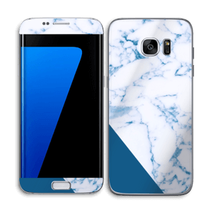 Blue and marble