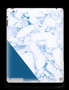 Marbre et bleu Skin IPad 4/3/2