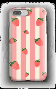Jordbær deksel IPhone 7 Plus tough