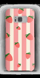 Erdbeeren Handyhülle Galaxy S8