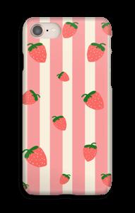 Jordbærstriber cover IPhone 8