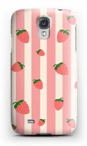 Strawberry Stripes  case Galaxy S4