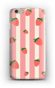 Strawberry Stripes  case IPhone 6 Plus