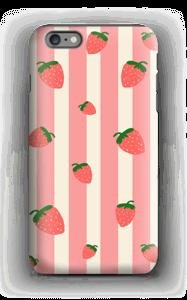 Strawberry Stripes  case IPhone 6 Plus tough