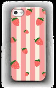 Aardbei strepen hoesje IPhone SE