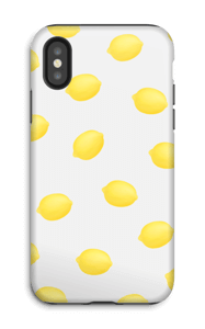 Kesäiset sitruunat kuoret IPhone X tough
