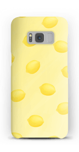 Gule sommercitroner cover Galaxy S8