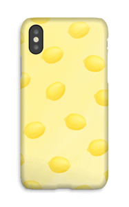 Citrons jaune Coque  IPhone X