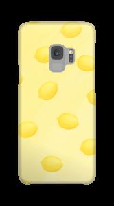 Gelbe Sommerzitronen Handyhülle Galaxy S9