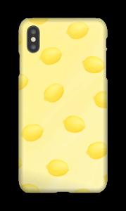 Citrons jaune Coque  IPhone XS Max