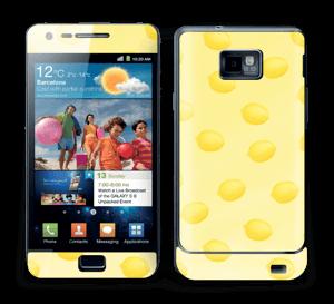 Summer lemon in yellow