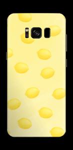 レモン イエロー スキンシール Galaxy S8