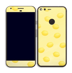 Citrons jaune Skin Pixel XL