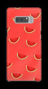 Røde vannmeloner deksel Galaxy Note8