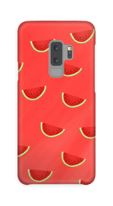 Røde vannmeloner deksel Galaxy S9 Plus