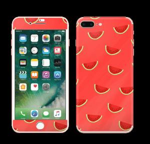 Pastèques rouge Skin IPhone 7 Plus