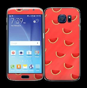 Pastèques rouge Skin Galaxy S6
