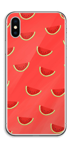 真っ赤なスイカ スキンシール IPhone X