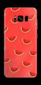 真っ赤なスイカ スキンシール Galaxy S8