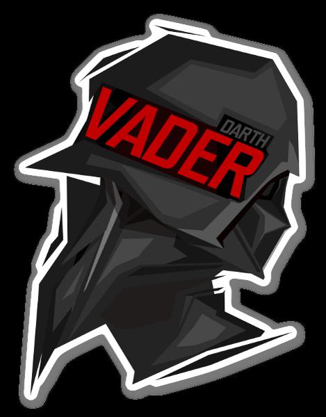 Darth Vader pegatina