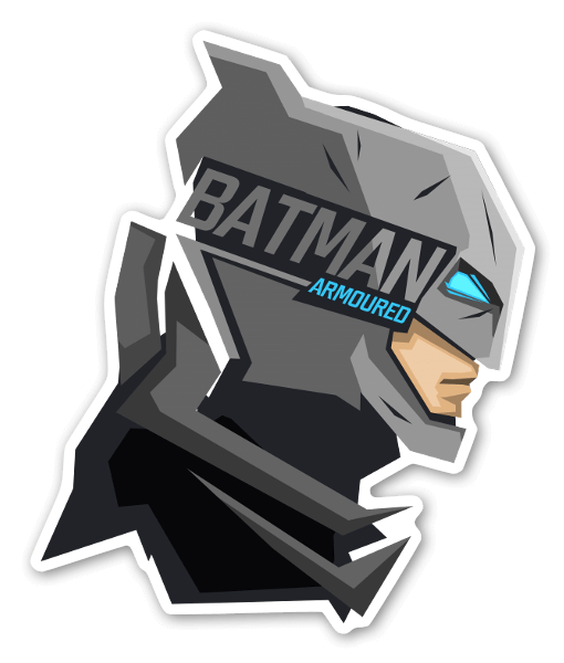 Suit up sticker