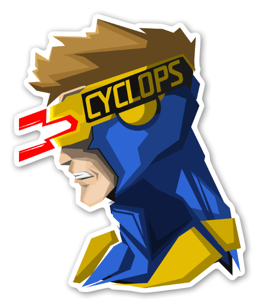 Cyclops sticker