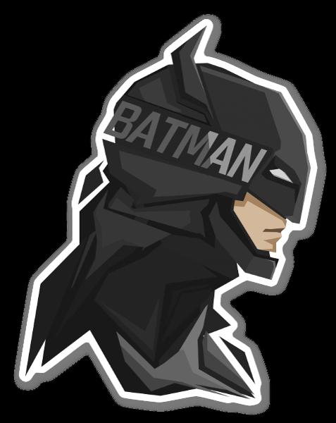 Batman II pegatina