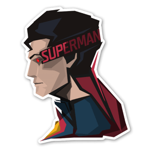 The Red Capes!  sticker