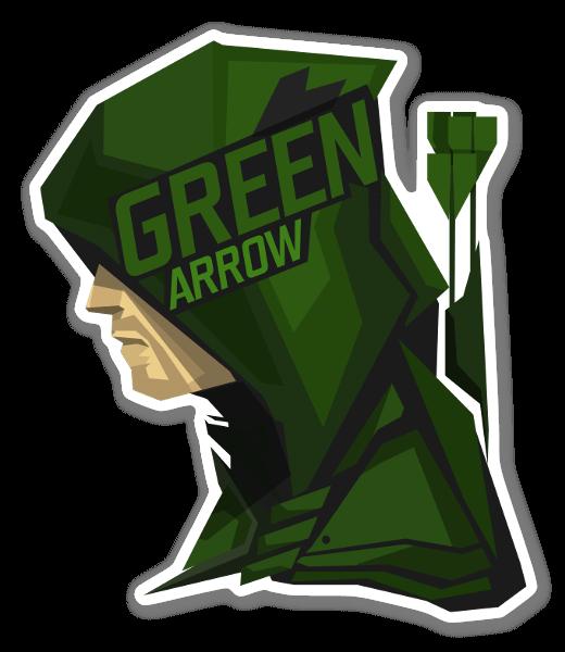 Arrow pegatina