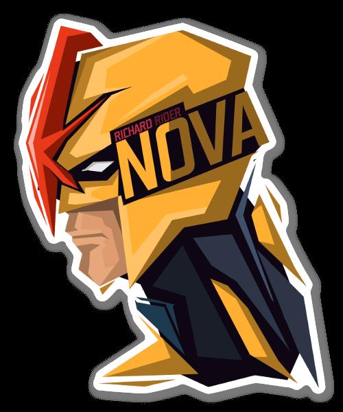 Power Of The Nova Force! sticker