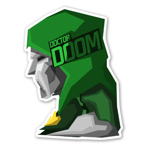 Doomed!  sticker