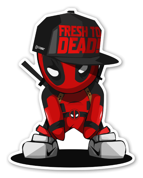 Fresh To Dead!  sticker