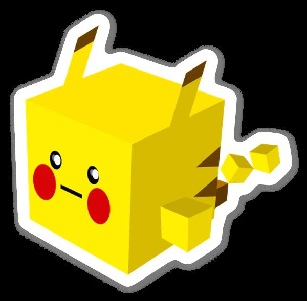 Pika! sticker