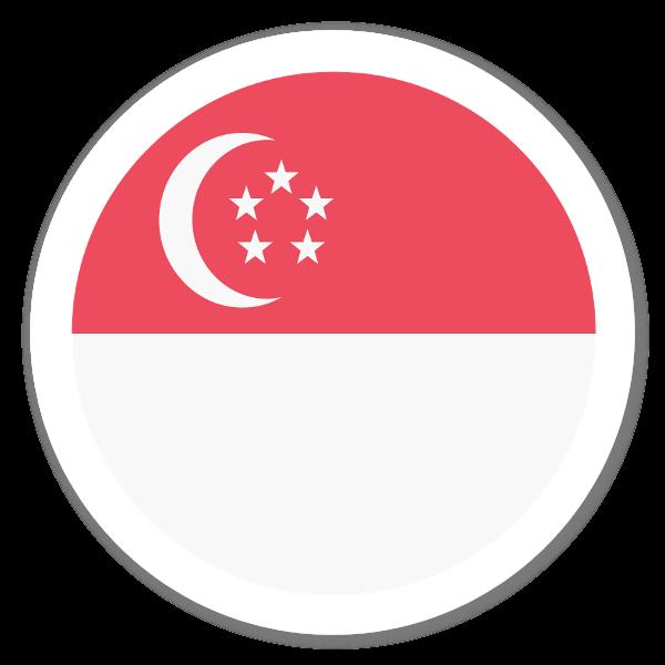 Singapur sticker
