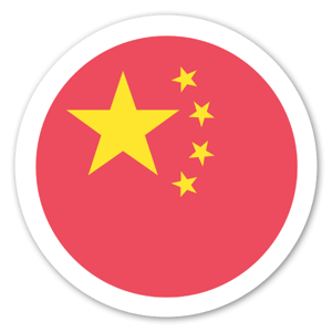 China sticker