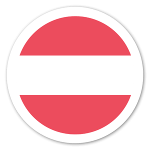 Austria Flag Sticker