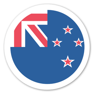 New Zealand Flag Sticker