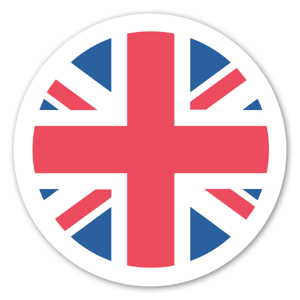 Storbritannien Flagga sticker