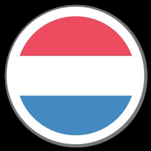 Holländsk Flagga sticker