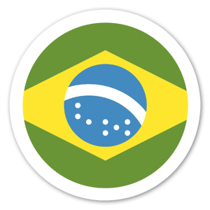 Brasilien sticker