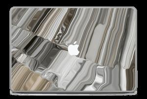 Melting Gold Skin MacBook Pro 17