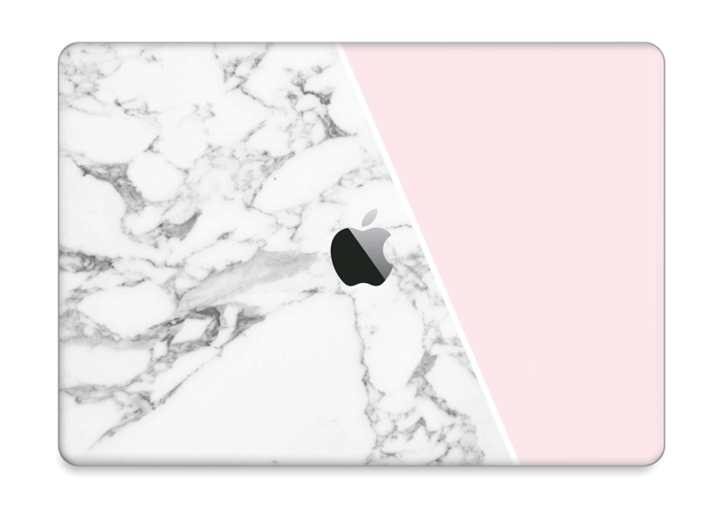 "Marble and Pink Skin MacBook Pro 13"" 2016-"
