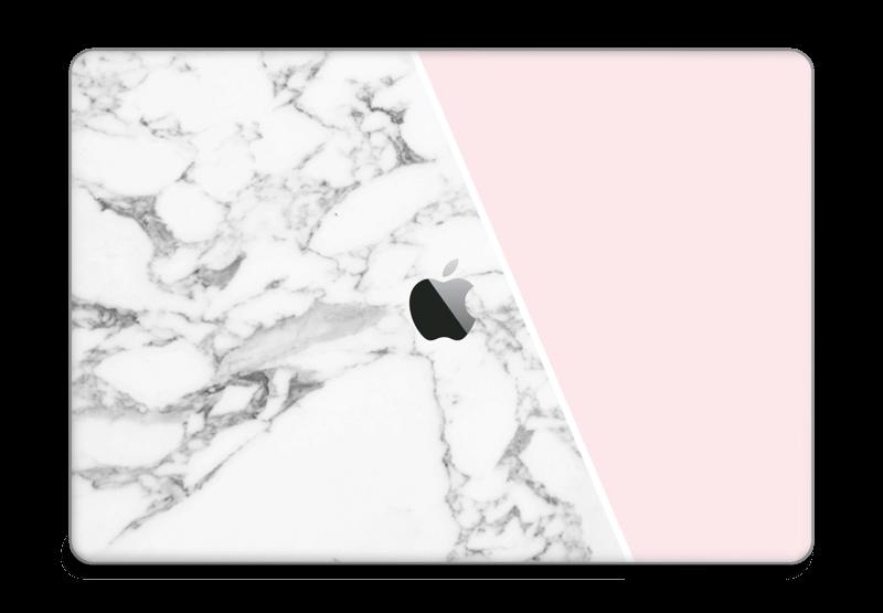 "Marmor og rosa Skin MacBook Pro 15"" 2016-"