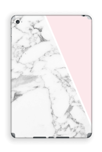 White Marble and pink pastell Skin IPad Mini 4