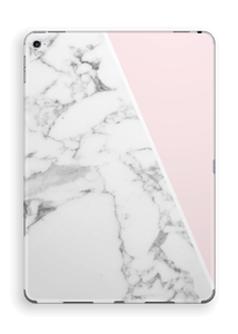 White Marble and pink pastell Skin IPad Pro 9.7
