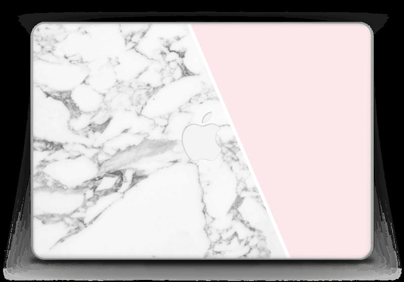 """Skin marbre & rose Skin MacBook Pro Retina 13"""" 2015"""