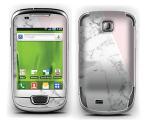 White Marble and pink pastell Skin Galaxy Mini