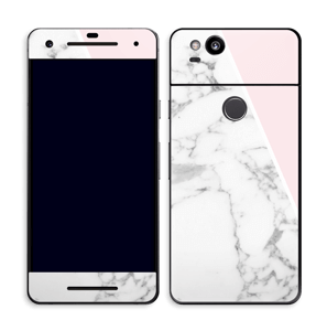 Marble and Pink Skin Pixel 2